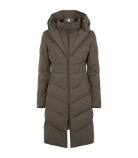 Lyst - Armani Shawl Collar Down Coat in Gray