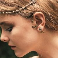 Pamela love Exclusive Rose Earrings In Sterling Silver in ...