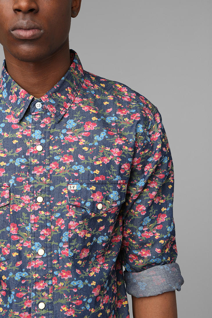 Lyst Urban Outfitters Salt Valley Smoky Floral Western