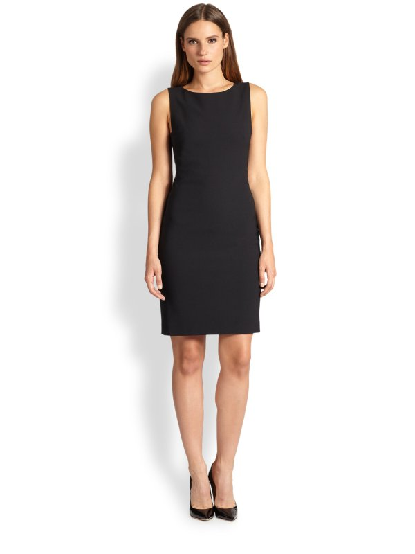 Lyst - Theory Betty Dress In Black