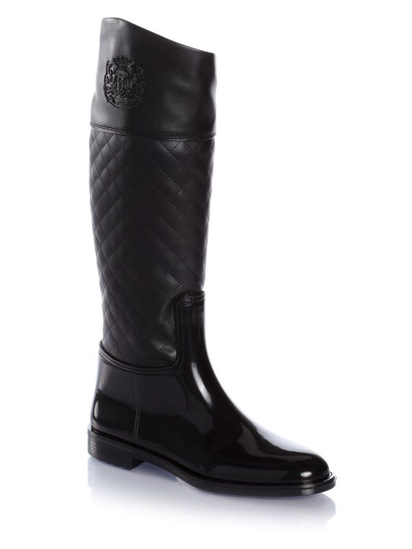 Guess Sissi Rain Boots In Black Lyst