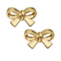 Kate Spade Gold-Tone Bow Clip-On Earrings in Gold (No ...