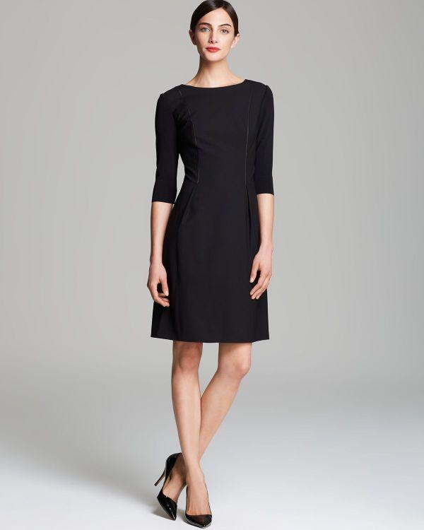 Lyst - Elie Tahari Holly Dress In Black