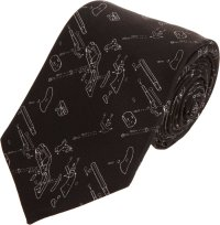 Givenchy Deconstructed Gun Tie in Black for Men | Lyst