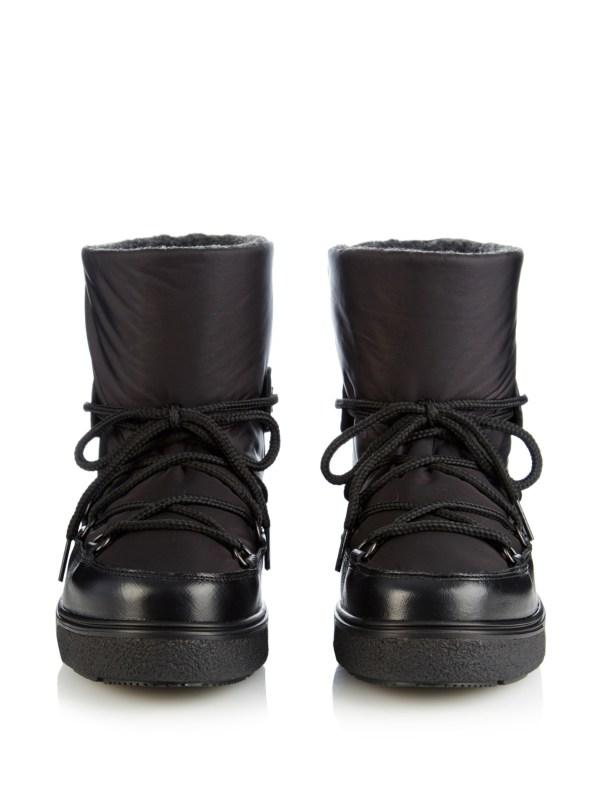 Moncler Fanny Apr-ski Boots In Black Lyst
