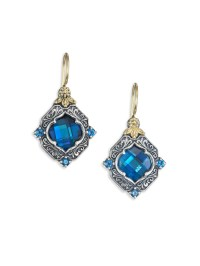 Konstantino Thalassa London Blue Topaz, Sterling Silver