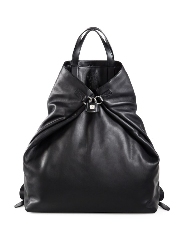 Gucci -active Large Leather Backpack In Black Men Lyst