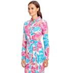 Diane Von Furstenberg Blue Silk Dress