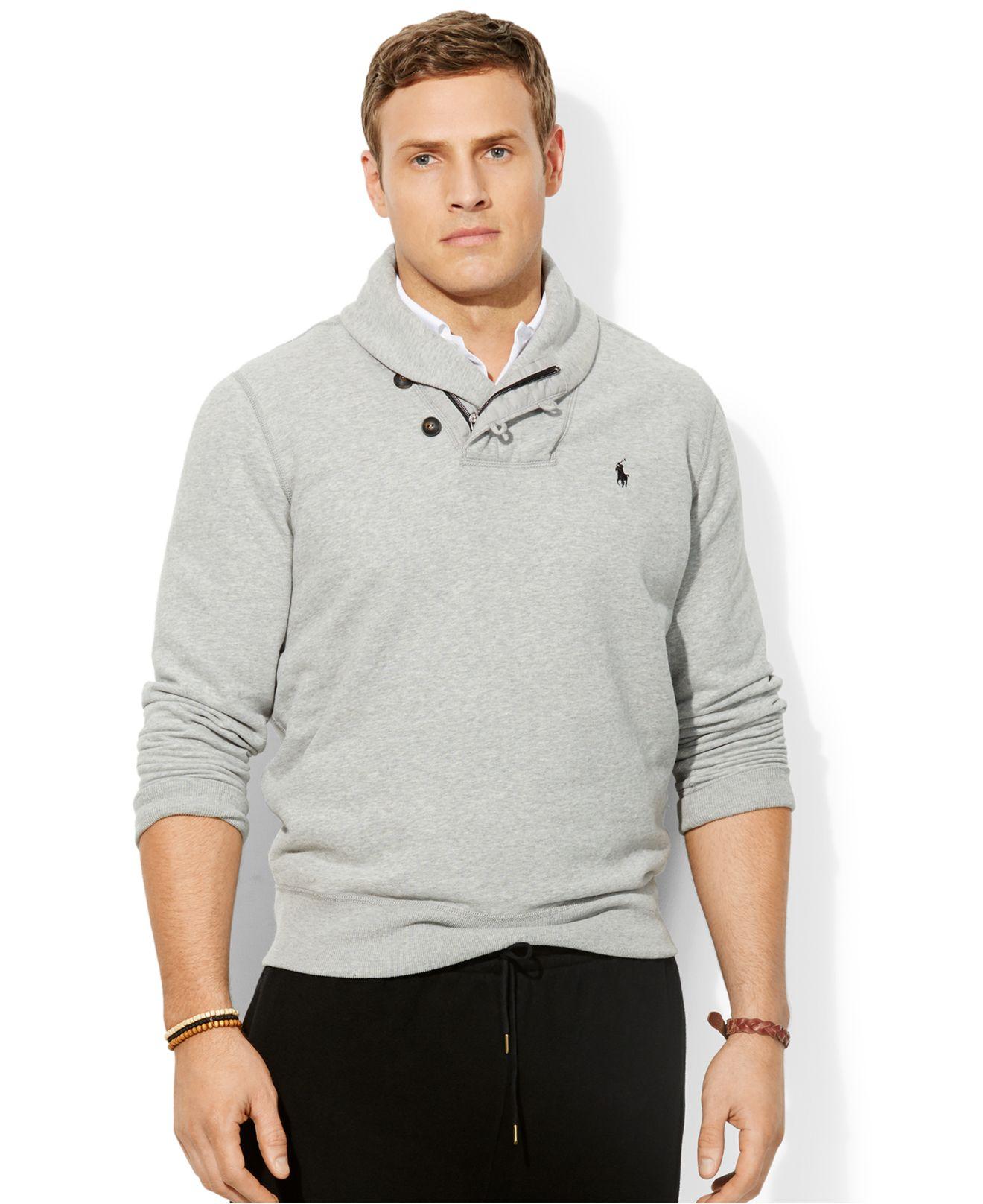 Polo Ralph Lauren Fleece Shawl Collar Pullover