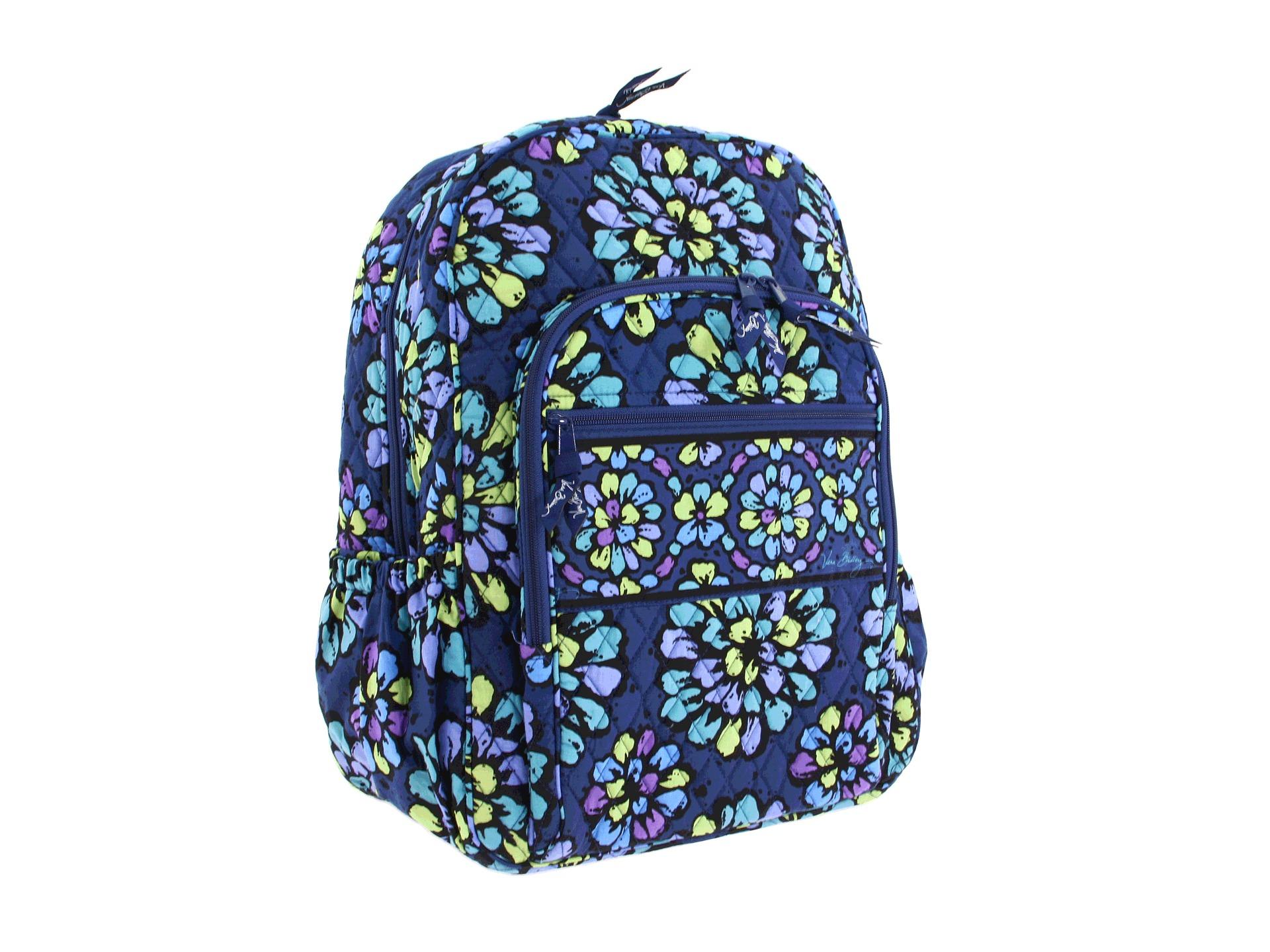 Vera Bradley Campus Backpack in Blue  Lyst
