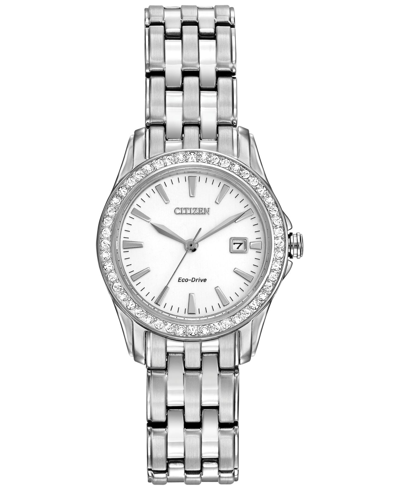 Citizen Women's Silhouette Crystal Eco-drive Stainless