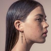 Pamela love Dagger Earrings in Metallic | Lyst