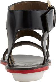 Marni Multi-Band Ankle-Strap Gladiator Sandals in Black   Lyst
