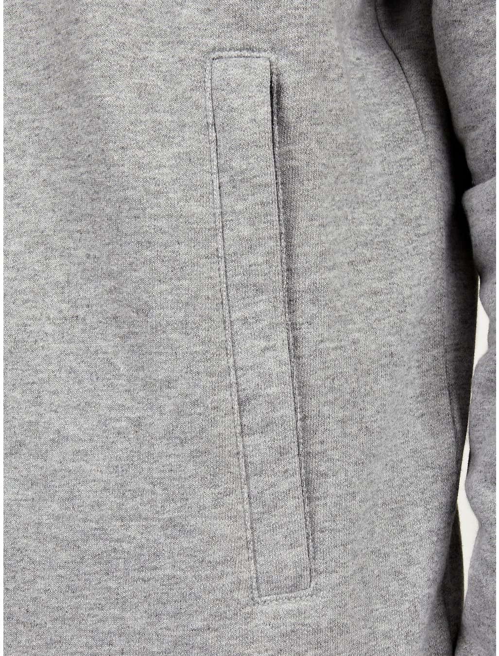 The North Face Mens Grey Heritage Mountain Full Zip Hoo
