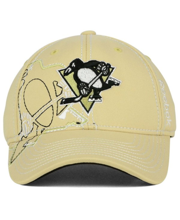Lyst - Reebok Pittsburgh Penguins Draft Spin Flex Cap In