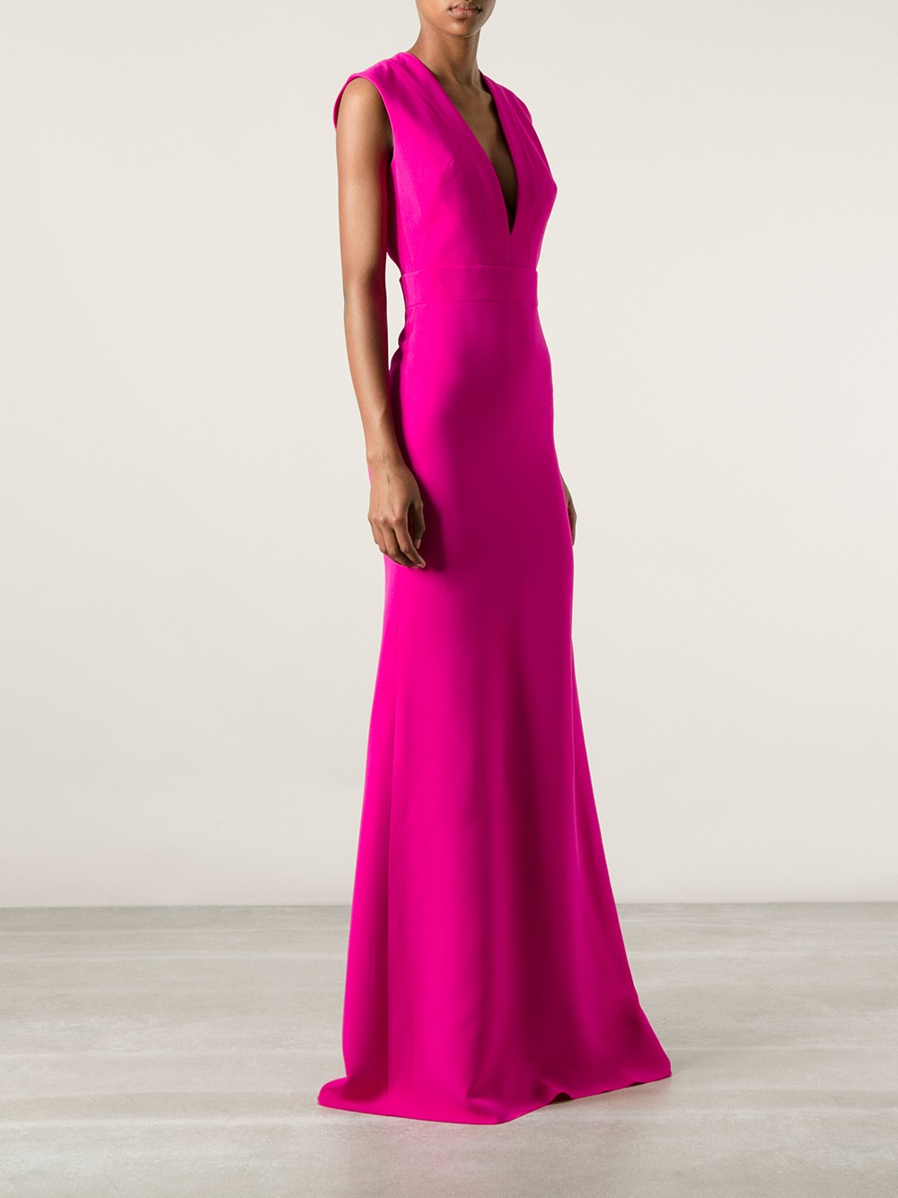Lyst  Victoria beckham Evening Dress in Purple