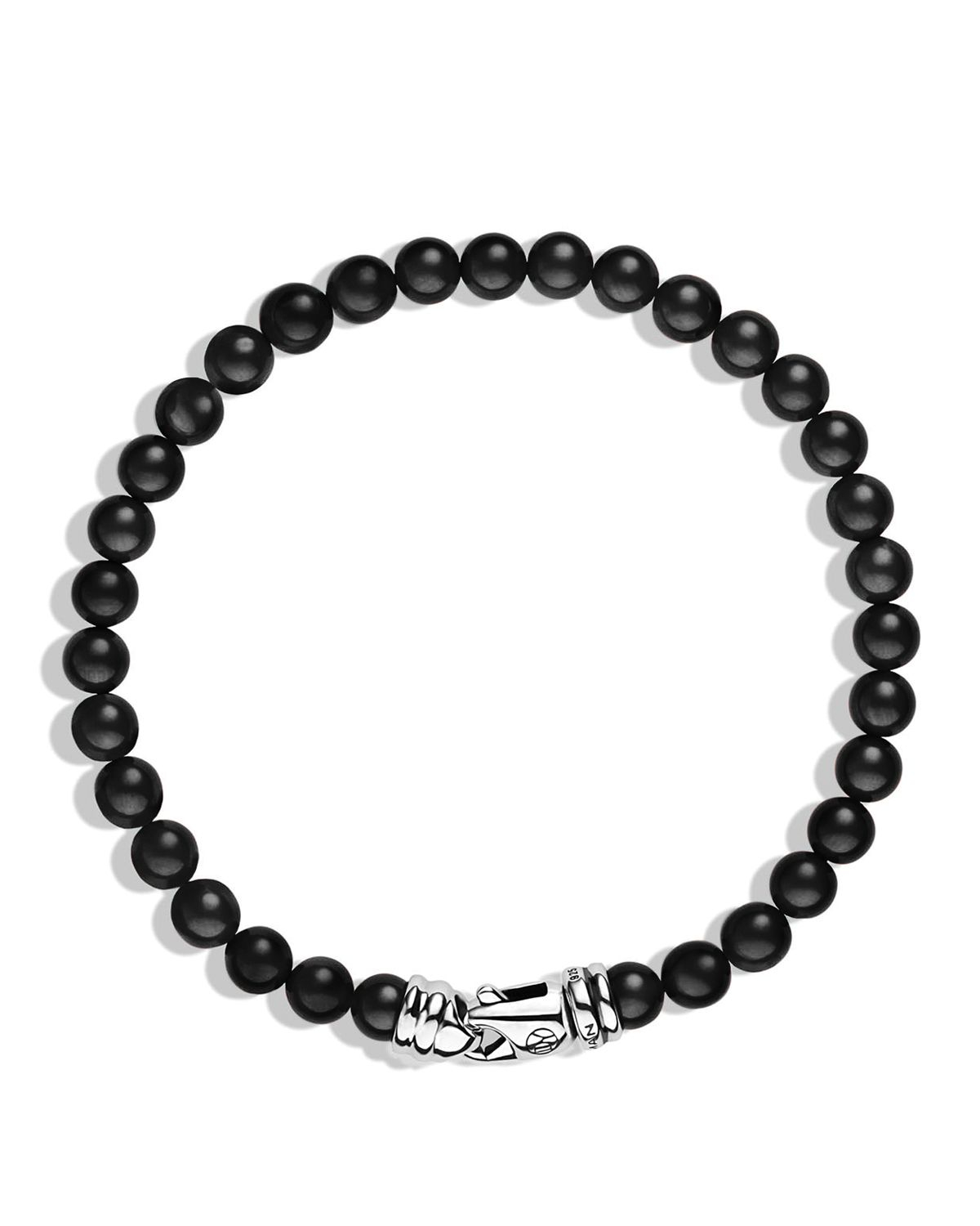 David Yurman Spiritual Beads Bracelet With Black Onyx In