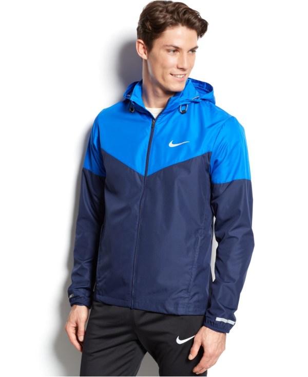 Blue Nike Windbreaker Jackets for Men