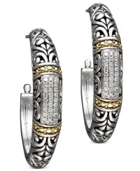 Effy collection Balissima By Effy Diamond Hoop Earrings (1