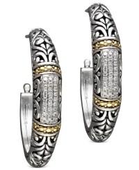 Effy collection Balissima By Effy Diamond Hoop Earrings (1 ...