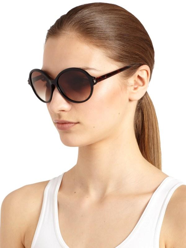 Lyst - Tom Ford Milena Sunglasses In Black