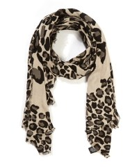 Lyst - Marc by marc jacobs Black Leopard Scarf in Black