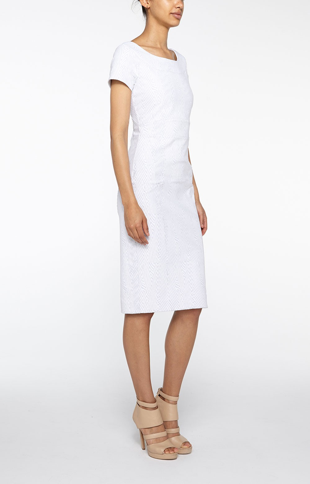 Lyst  Nicole Miller Karina Bodycon Dress in White