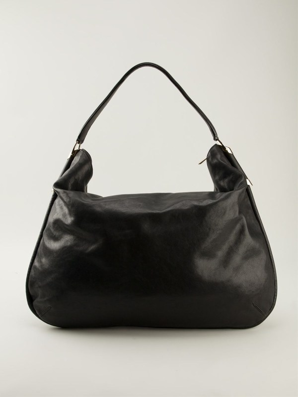 Lyst - Jimmy Choo Large 'zoe' Hobo Shoulder Bag In Black