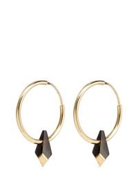 Lyst - Isabel Marant Buffalo Horn Teardrop Hoop Earrings ...