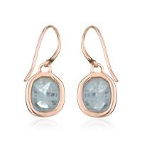 Monica vinader Siren Wire Earrings in Blue | Lyst