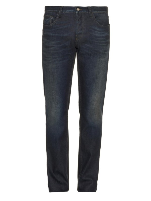 Lyst - Gucci Mid-rise Straight-leg Jeans In Blue Men