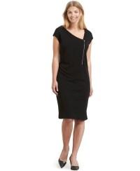 Lyst - Violeta By Mango Plus Size Zip-front Sheath Dress ...