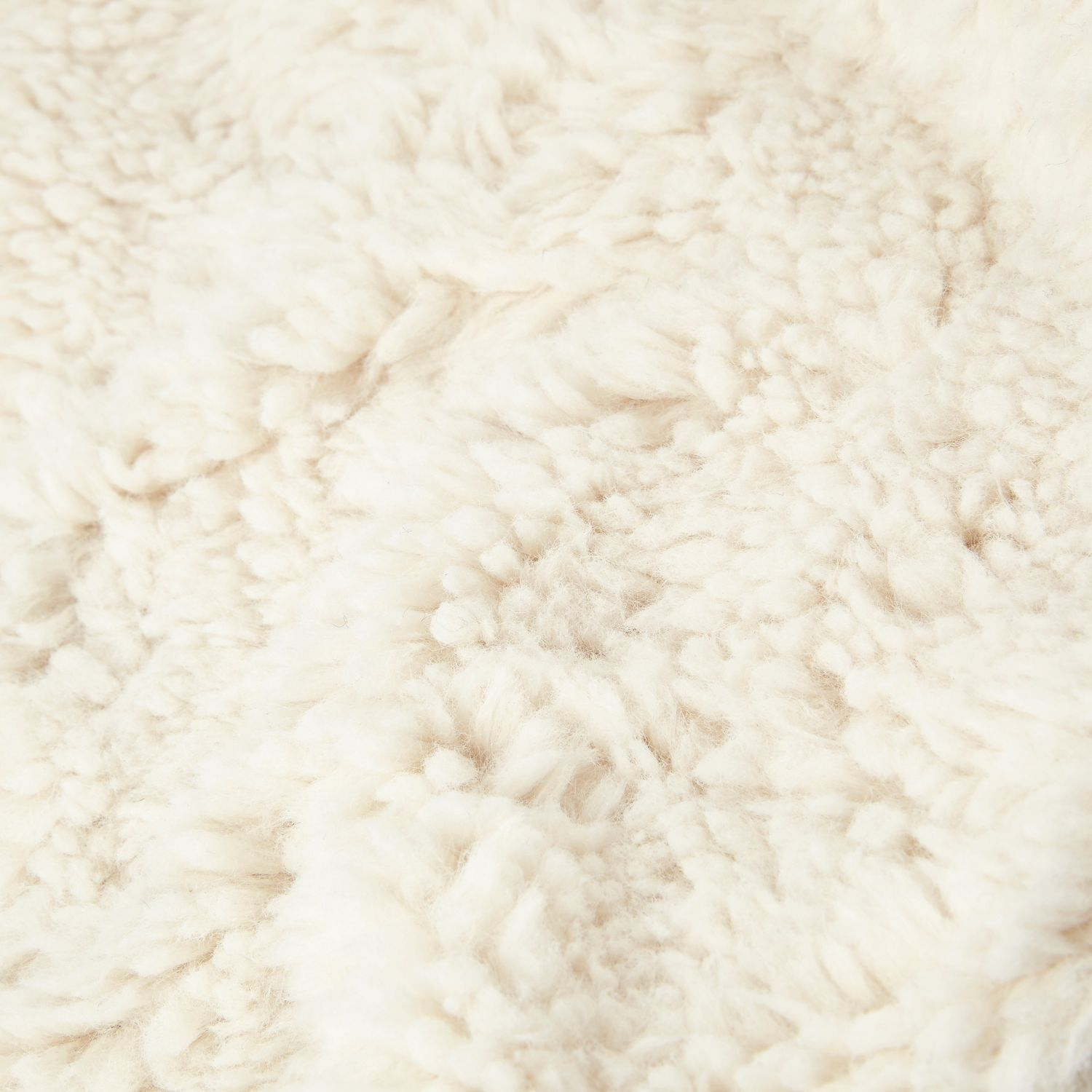 Burberry Iphone Wallpaper River Island Cream Scarf Knitted Borg In Natural Lyst