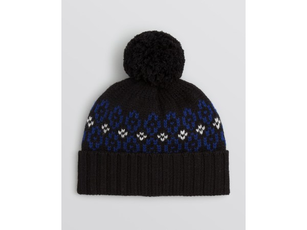 Lyst - Bloomingdale' Ski Pom Hat In Black Men