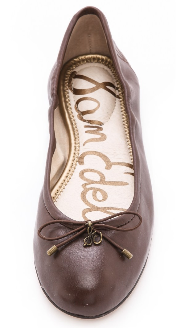 Sam Edelman Felicia Ballet Flats - Burgundy In Dark