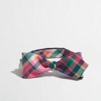 Lyst - J.Crew Factory Plaid Bow Tie for Men