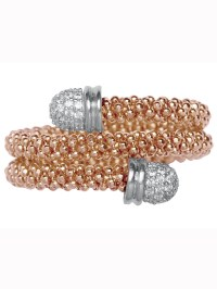 Links Of London Star Dust Rose Gold Wrap Ring in Gold ...
