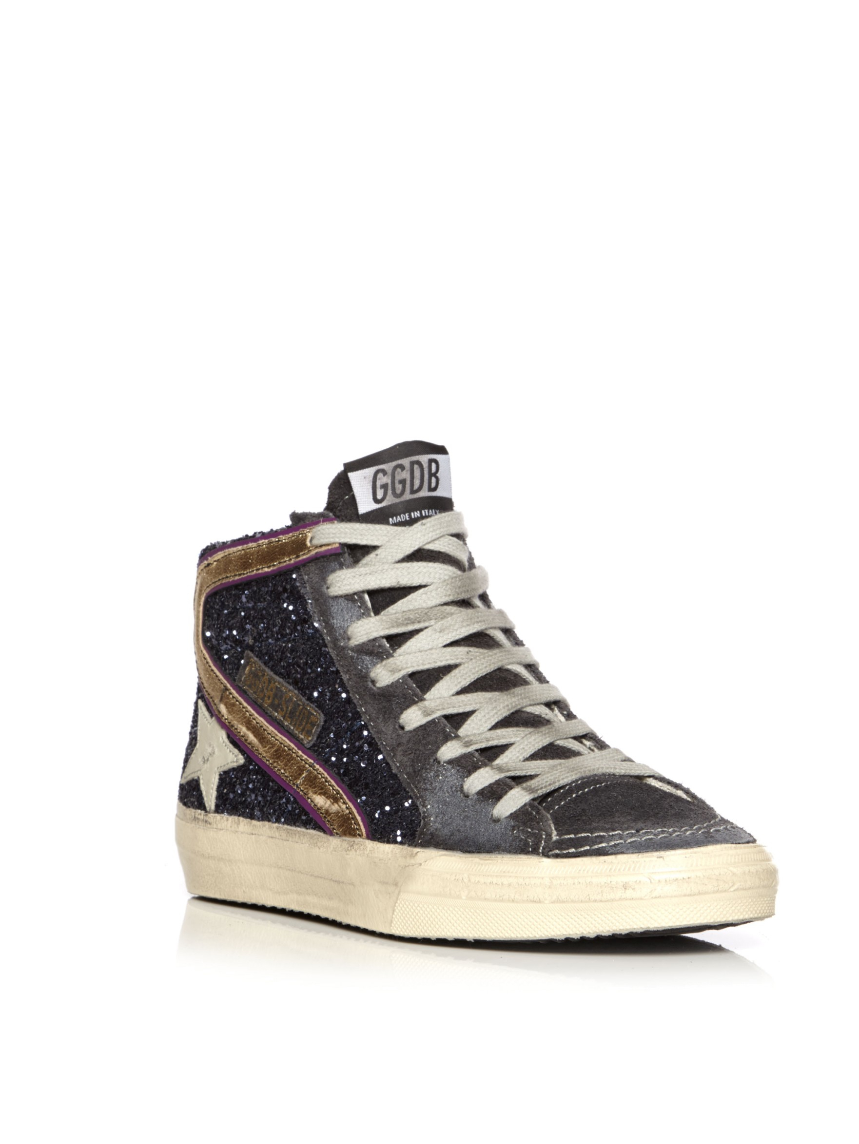 Golden goose deluxe brand Slide Sneaker in Blue  Lyst