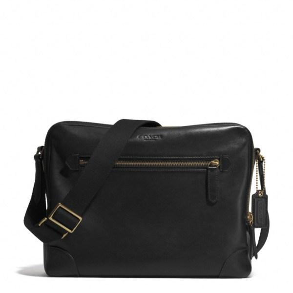 Lyst - Coach Bleecker Flight Bag In Leather Brown Men
