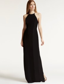 Halston Heritage Satin Dress