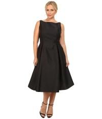 Plus Size Evening Dress Tea Length - Eligent Prom Dresses