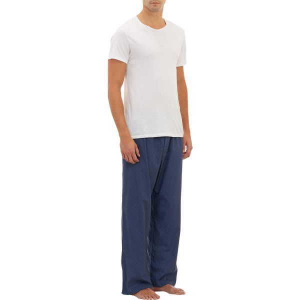 Lyst - Barneys York Dotted Pajama Pants In Blue Men