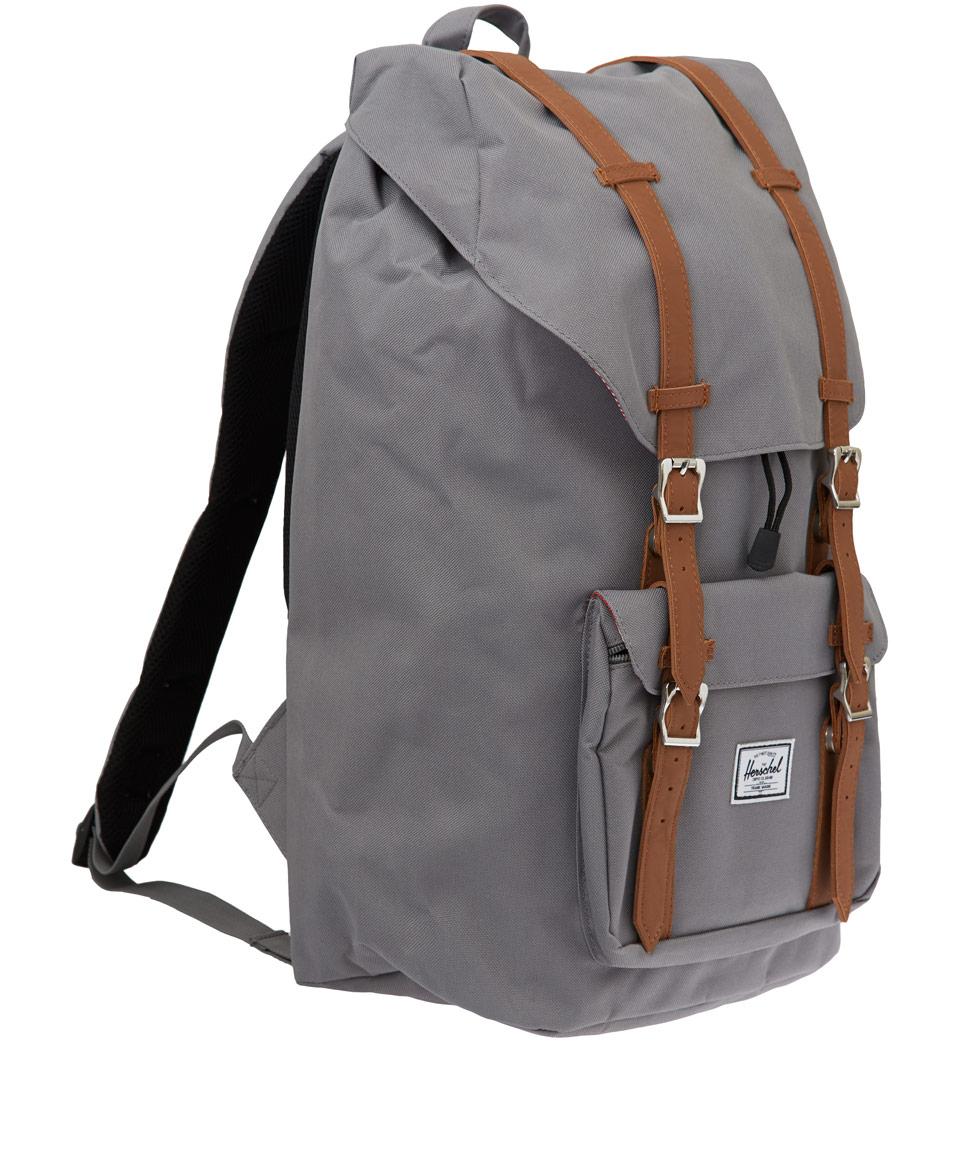 Herschel supply co. Herschel Little America Backpack in Gray for Men | Lyst