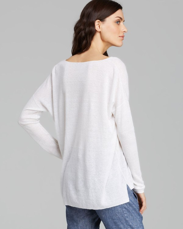 Lyst - Theory Sweater Larlissa Sag Harbor In White
