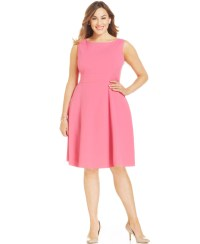 Plus Size Pink Dresses - Plus Size Prom Dresses