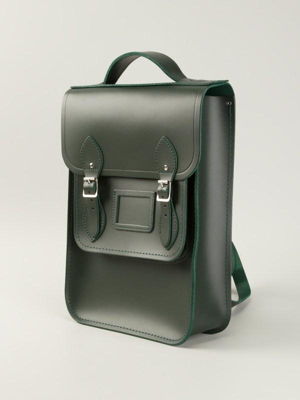 Lyst - Cambridge Satchel Company Raw Cut Leather Backpack