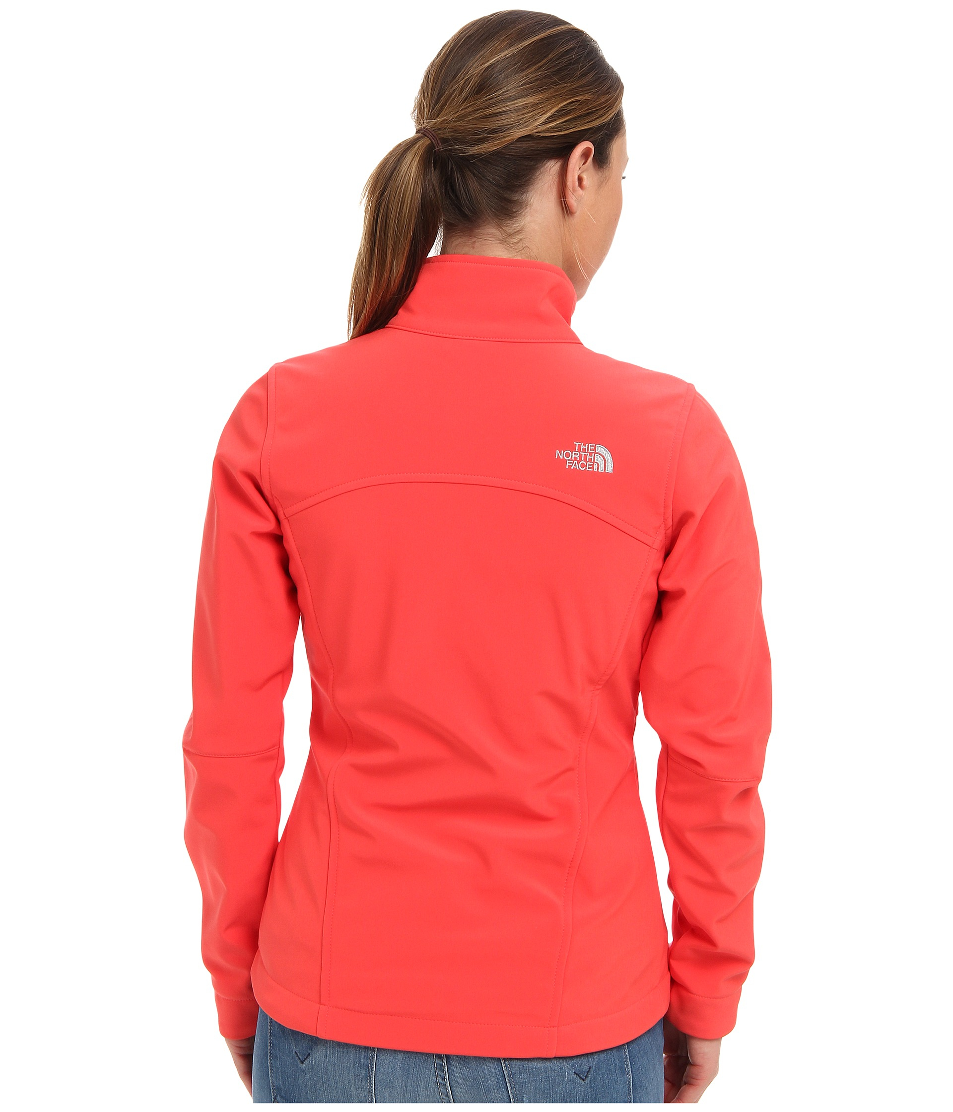 The north face Apex Bionic Jacket in Pink   Lyst