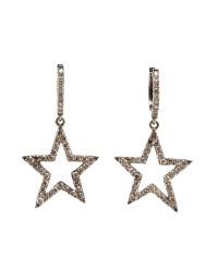 Lyst - Rosa De La Cruz Burnished Gold And Diamond Star ...