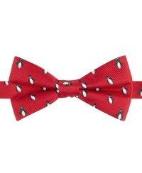 Tommy hilfiger Penguin Print Bow Tie in Red for Men | Lyst