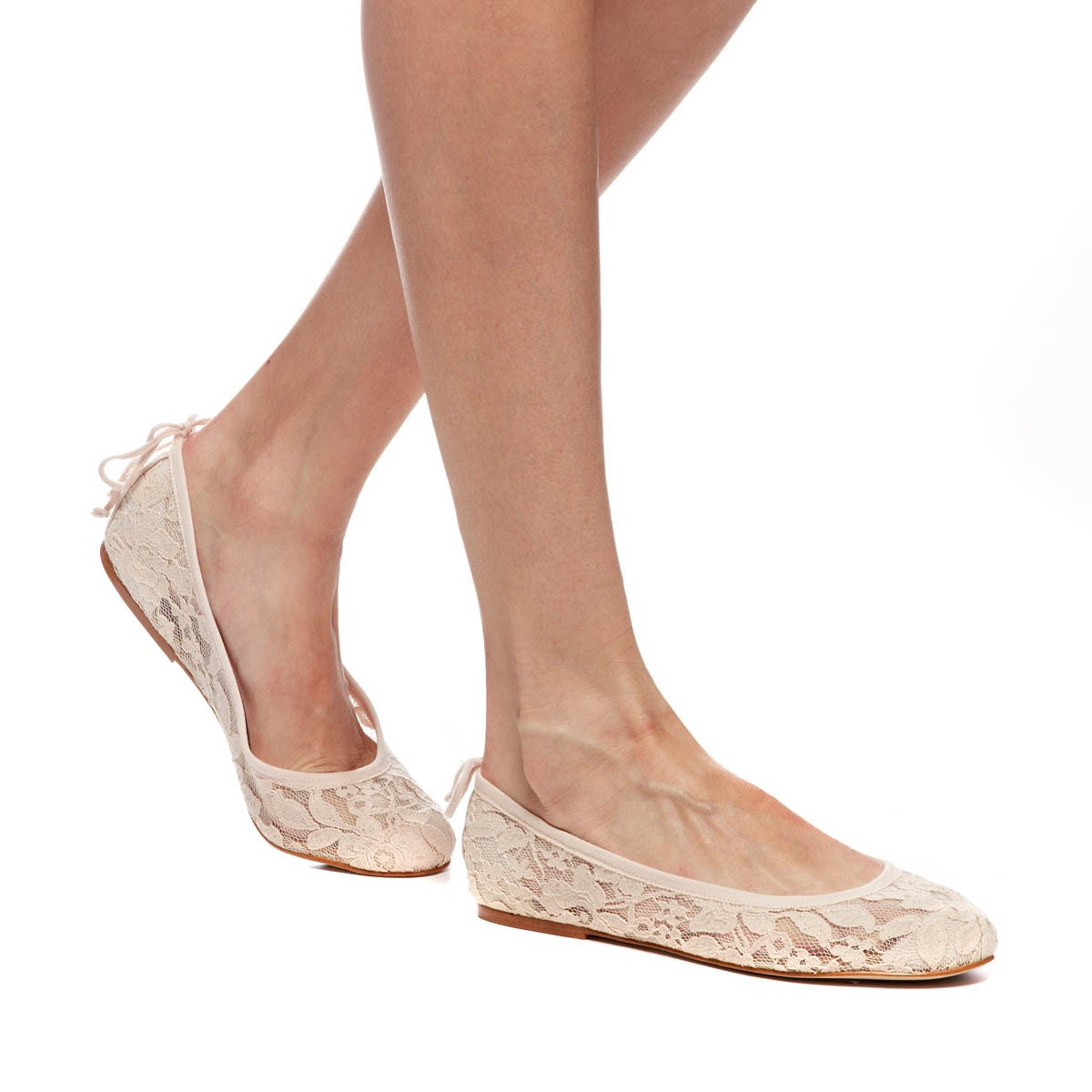 Soludos Chantilly Lace Ballet Flat in Pink  Lyst